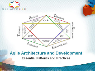 Agile Architecture and Development Title Page